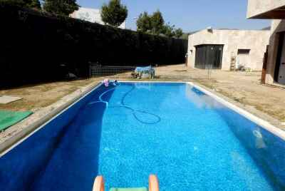 New 5 bedroom house in avant-garde style with pool and sea view in Costa Maresme